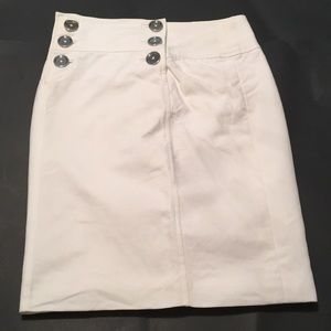Black label Ralph Lauren retro mini skirt white 6